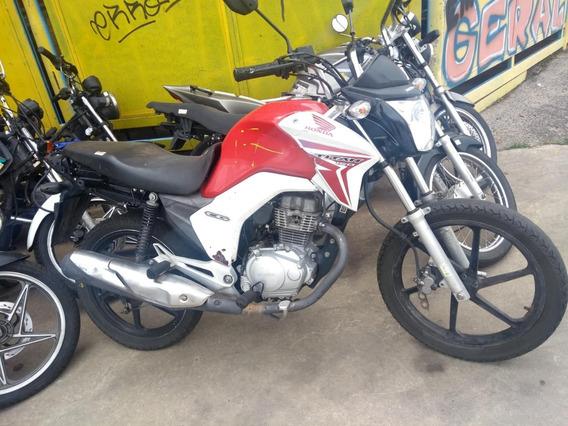Sucata Honda Cg Titan 150 2015 Peças Com Notas Fiscais