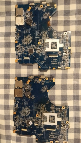 2 Placas Mãe Sony Vaio Com Defeito No Processador De Vídeo.