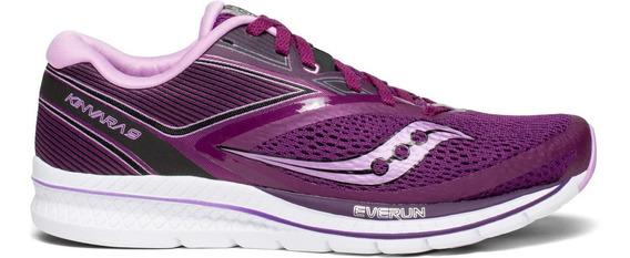 Zapatilla Saucony Running Kinvara 9 Mujer Violeta/rosa