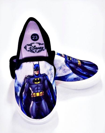 Promoção Tênis Alpargatas Masculina Infantil Batman