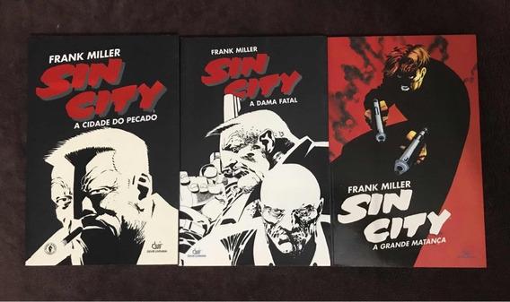 Sin City - Frank Miller (lote Com 3)