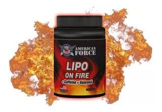Quemador De Grasa Lipo On Fire Termogenico 120 Capsulas