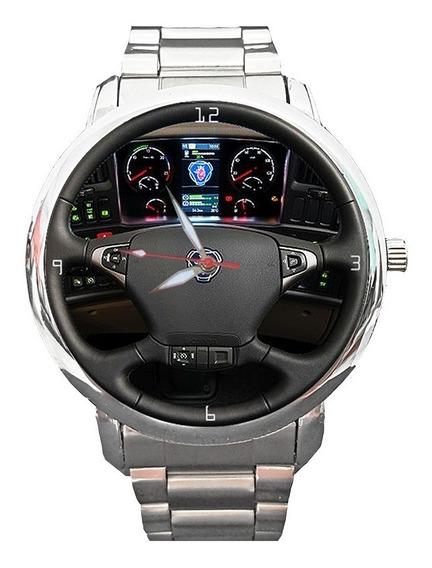 Relógio Painel Volante Scania Caminhão Carga +barato+vendido