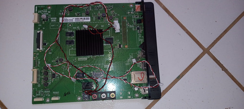 Imagem 1 de 2 de Todas As  Placas Da Tv Semp49u7800 Tela Quebrada