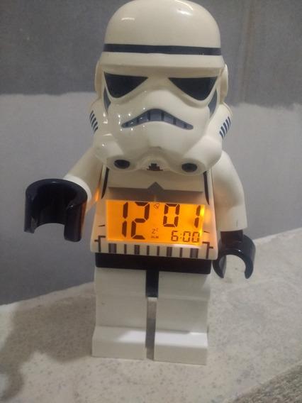 Reloj Despertador Con Luz Lego / Starwars