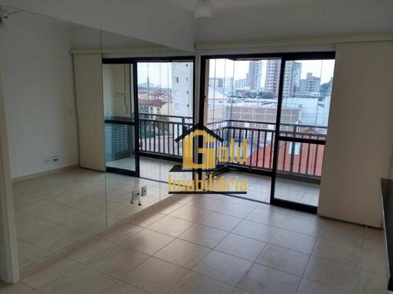 Apartamento Com 1 Dormitórios Para Venda E Locação, 47 M² Por R$ 1.200/mês - Nova Aliança - Ribeirão Preto/sp - Ap1652