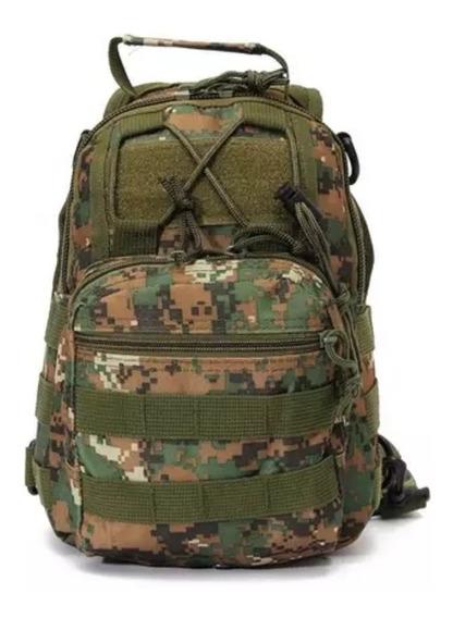 Mochila Militar Pechera Mil Uso Alta Calidad 1 Correa Gjp