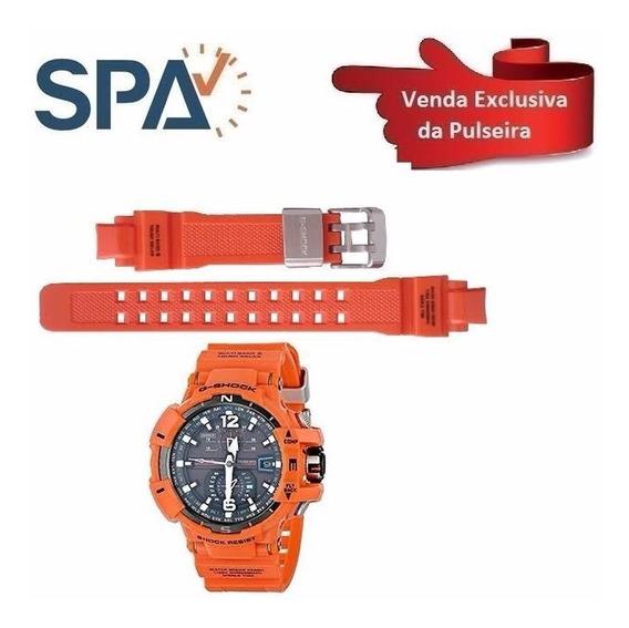 Pulseira Para O Casio Gw-a1100r-4a 100%original