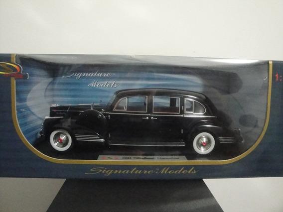 Mini Packard Limousine 1941 Tipo Cadillac 1:18 Black