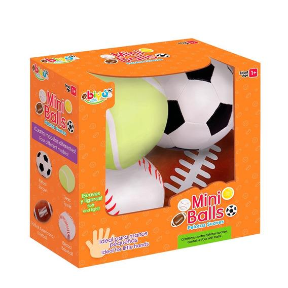 Mini Balls Pelotas Suaves Bebés Diako Estimulación Temprana
