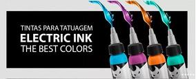 Tinta Electric Ink Tattoo Tatuagem 30 Ml A Escolha
