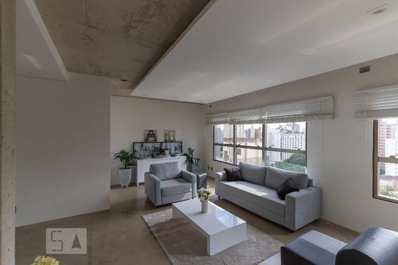 Studio No 14º Andar Mobiliado Com 1 Dormitório E 1 Garagem - Id: 892969647 - 269647