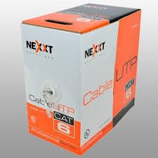 Rollo De Cable Utp Nexxt, Cat-6 1000 Pies