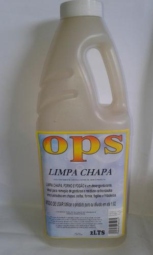 Imagem 1 de 1 de Desincrustante Limpa Chapa,forno,fogão 2 Lts Cx C/10unidades
