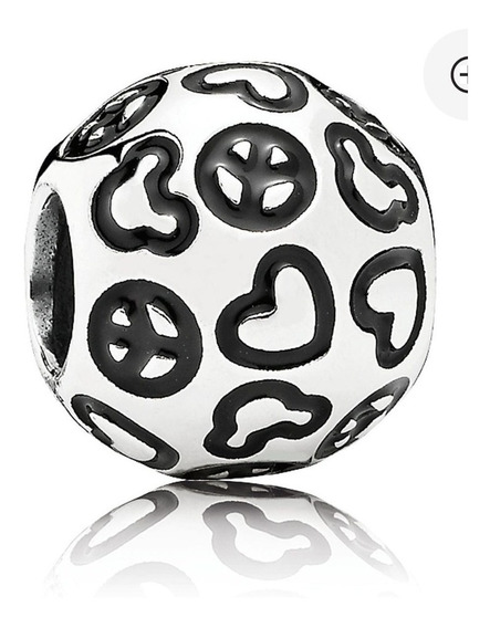 Pandora Charm Peace And Love Disney 100% Original
