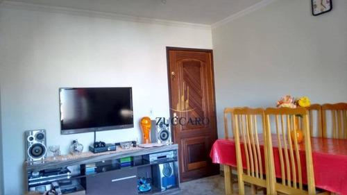 Apartamento Com 3 Dormitórios À Venda, 58 M² Por R$ 285.000,00 - Jardim Santa Clara - Guarulhos/sp - Ap15419