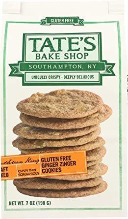 Imagen 1 de 6 de De Tate Bake Shop Sin Gluten Galletas De Jengibre Zinger, 7