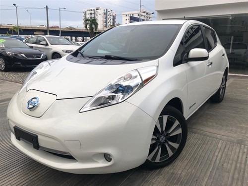 Nissan Leaf 2014 Full Clean Camara Piel