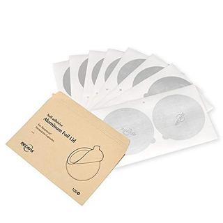 Vuelve A Tapar Las Tapas De Papel De Aluminio Para Reutiliza