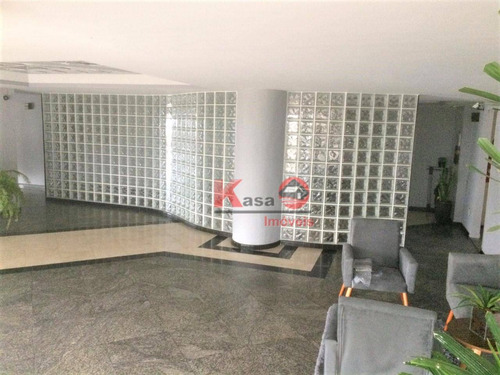 Imagem 1 de 14 de Apartamento Com 3 Dormitórios À Venda, 173 M² Por R$ 700.000,00 - Canto Do Forte - Praia Grande/sp - Ap9815