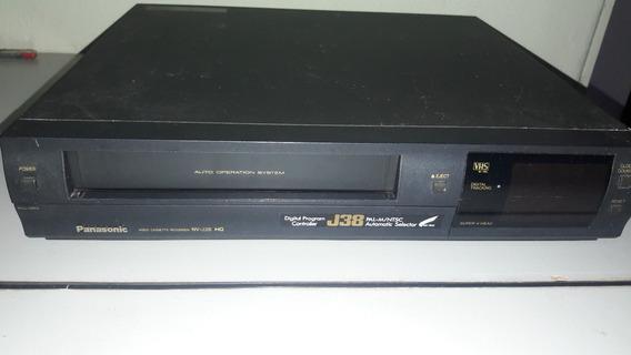 Video Cassete Panasonic Nv-j38 Hq Com Defeito (leia).