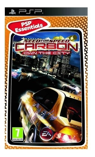 Nfs Carbon Own The City Pe - Psp - Mídia Física - Usado