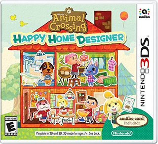 Animal Crossing: Happy Home Designer - 3ds Up Shop