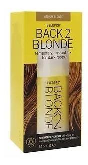Clareador De Raízes Everpro Back 2 Blonde Medium Blonde