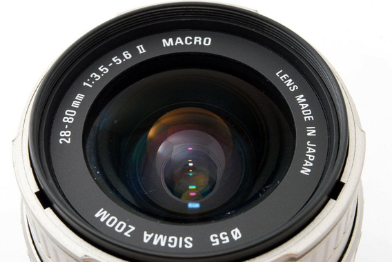 Lente Sigma Ii 28-80 F/3.5 Macro Aspherical P/ Nikon Dx/fx