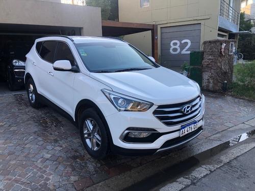 Imagen 1 de 9 de Hyundai Santa Fe 2wd 7 Asientos At Cuero 2016