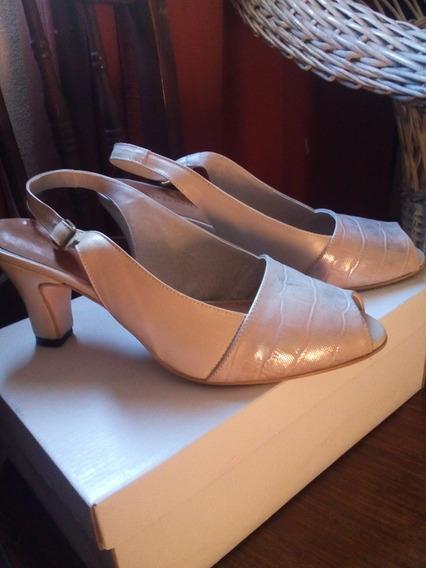 Zapatos Mujer Antonio Tanni Numero 38 Un Solo Uso