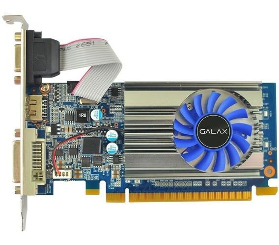 Geforce Galax Gt Mainstream Gt 710 1gb Ddr3 64bits