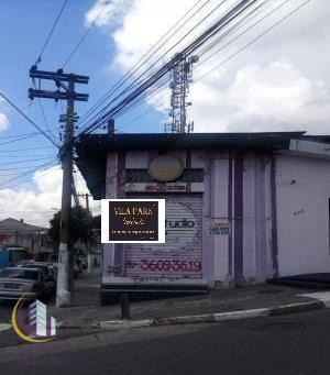 Imagem 1 de 2 de Salão Para Alugar, 50 M² Por R$ 1.570,00/mês - Santo Antônio - Osasco/sp - Sl0036