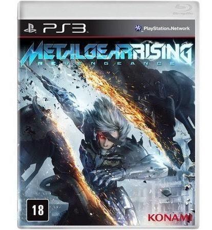 Metal Gear Rising - Midia Fisica Original E Lacrado -