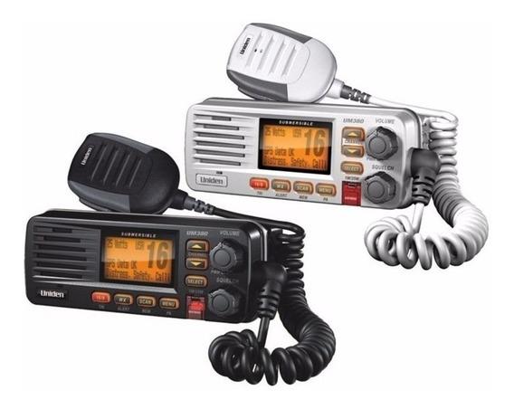 Rádio Vhf Uniden Solara Dsc Marítimo Um380 Nota Fiscal!