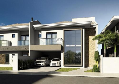 Casa Geminada No América Com 3 Quartos Para Venda, 182 M² - Lg7735