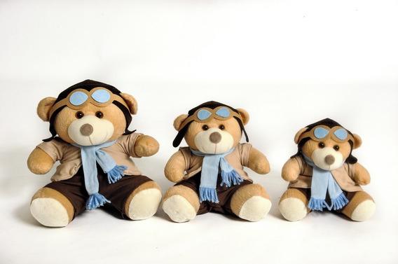 Trio De Ursinho Para Nicho Aviador