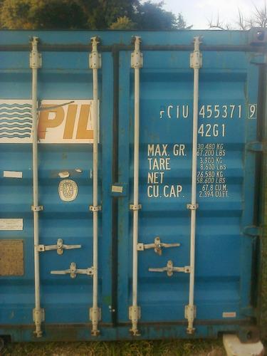 Contenedores Maritimos Containers Usados 20/40 Junin