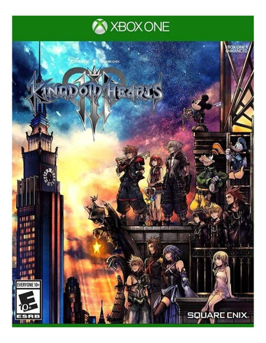Kingdom Hearts III Standard Edition Digital Xbox One Square Enix