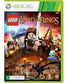 Lego Senhor Dos Anéis Xbox 360 Original Lacrado Midia Fisica