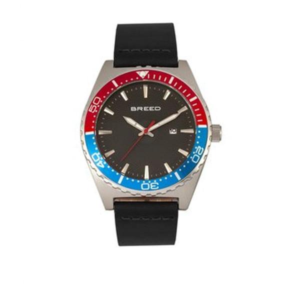 Modelo Varon Reloj Breed Ranger Brd8003 - Negro/plata