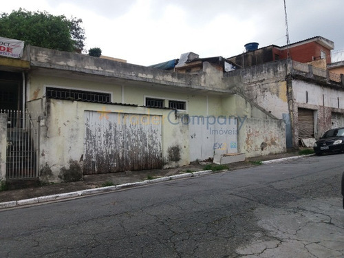 Vila Palmeiras Terreno 480,00m² 19,00ms X 31,00ms E 13,00ms  R$ 680.000,00 - Te00020