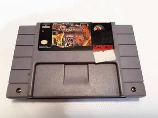 Wrestlemania / Super Nintendo / Juego / Snes / Original