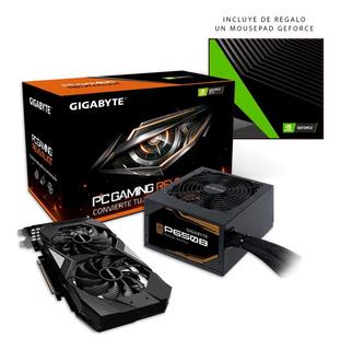 Revival Kit Gamer Gv-n1660oc-6gd + Fuente 650w P650 Gigabyte