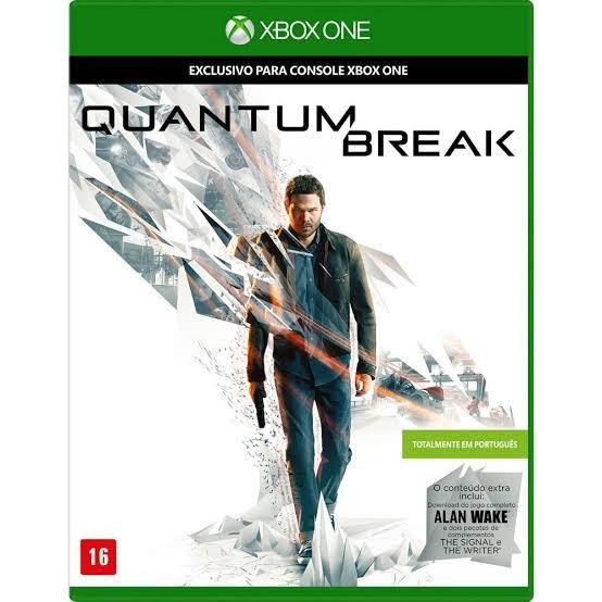 Quantum Break Xbox One Midia Fisica Totalmente Em Português