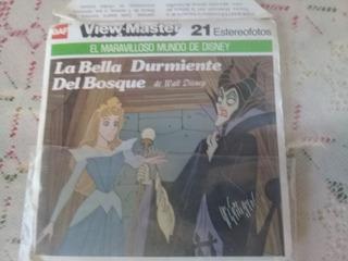 View Master Clasicos De Walt Disney - 3 Discos + Catalogo
