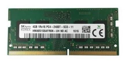 Memoria Sodimm 4gb Ddr4 2400 Mhz Ram Notebook / Palermo