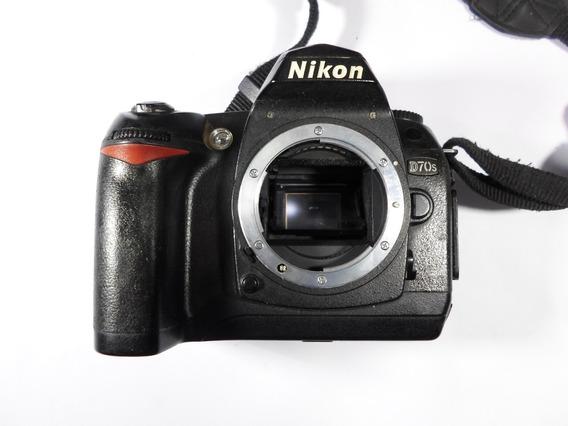 Nikon D70s Câmera (defeito)