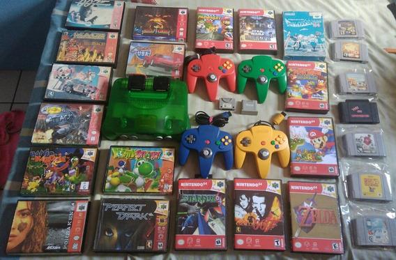 Nintendo 64 Ediçao Sabores