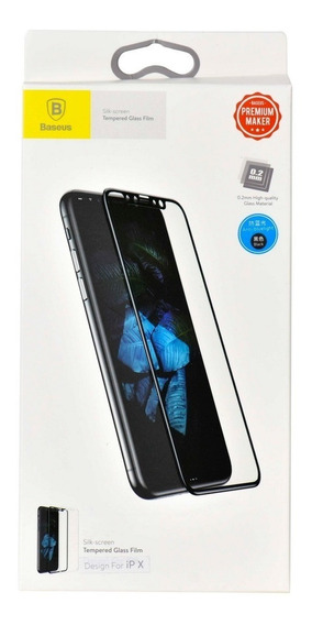 Película iPhone X Vidro Temperado Anti-blue Baseus